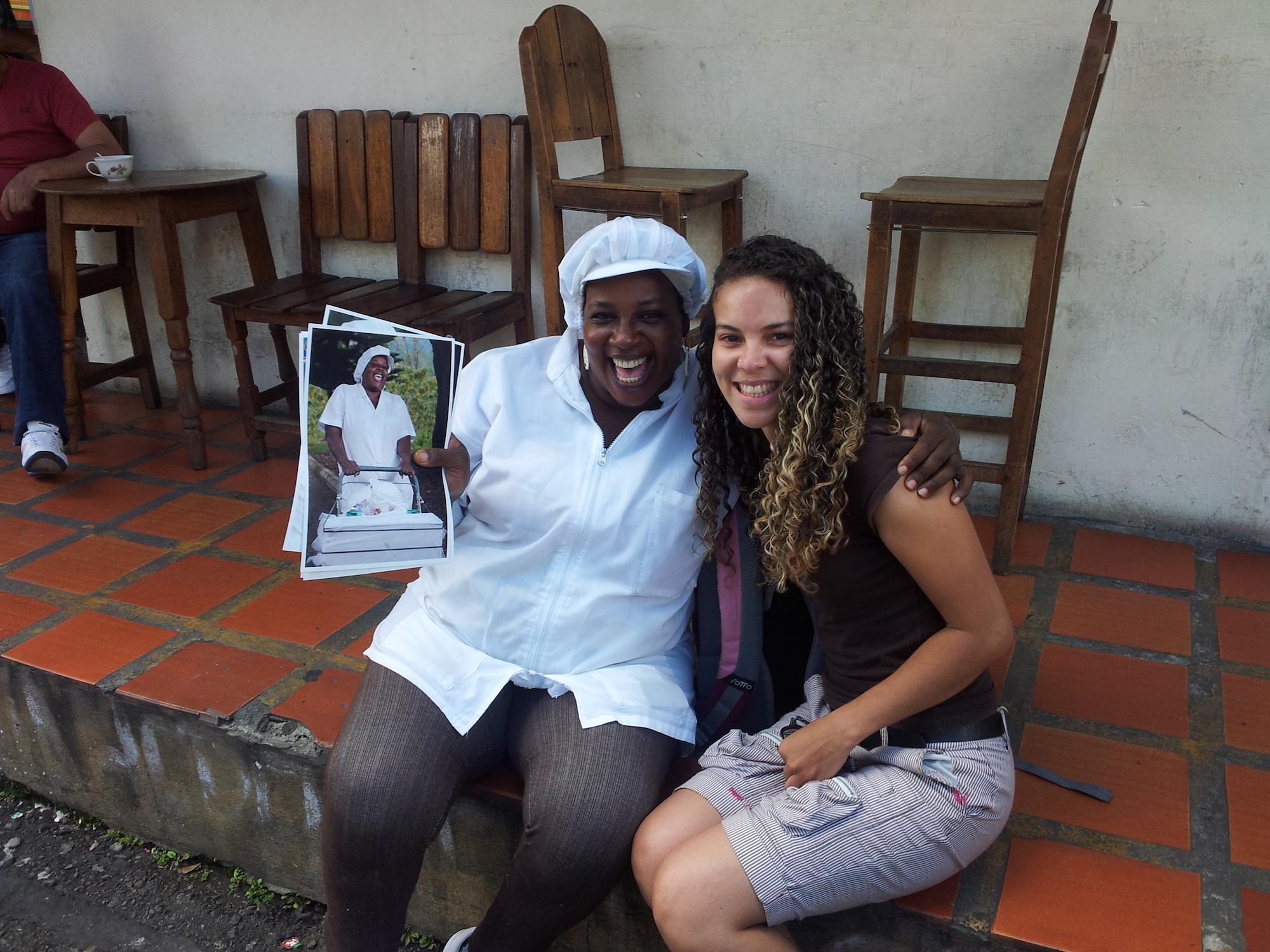 Travail d'investigation (Ángela avec La Jale)