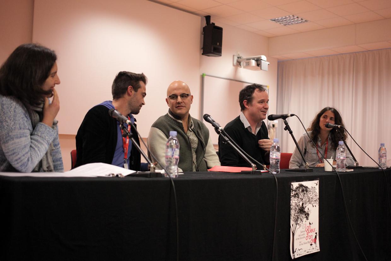 Mariannick Bellot, Benoît Bories, Mehdi Ahoudig, Thomas Baumgartner, Amandine Casadamont - © Sébastien Durand