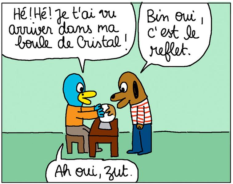 Anouk Ricard / Professeur Cyclope