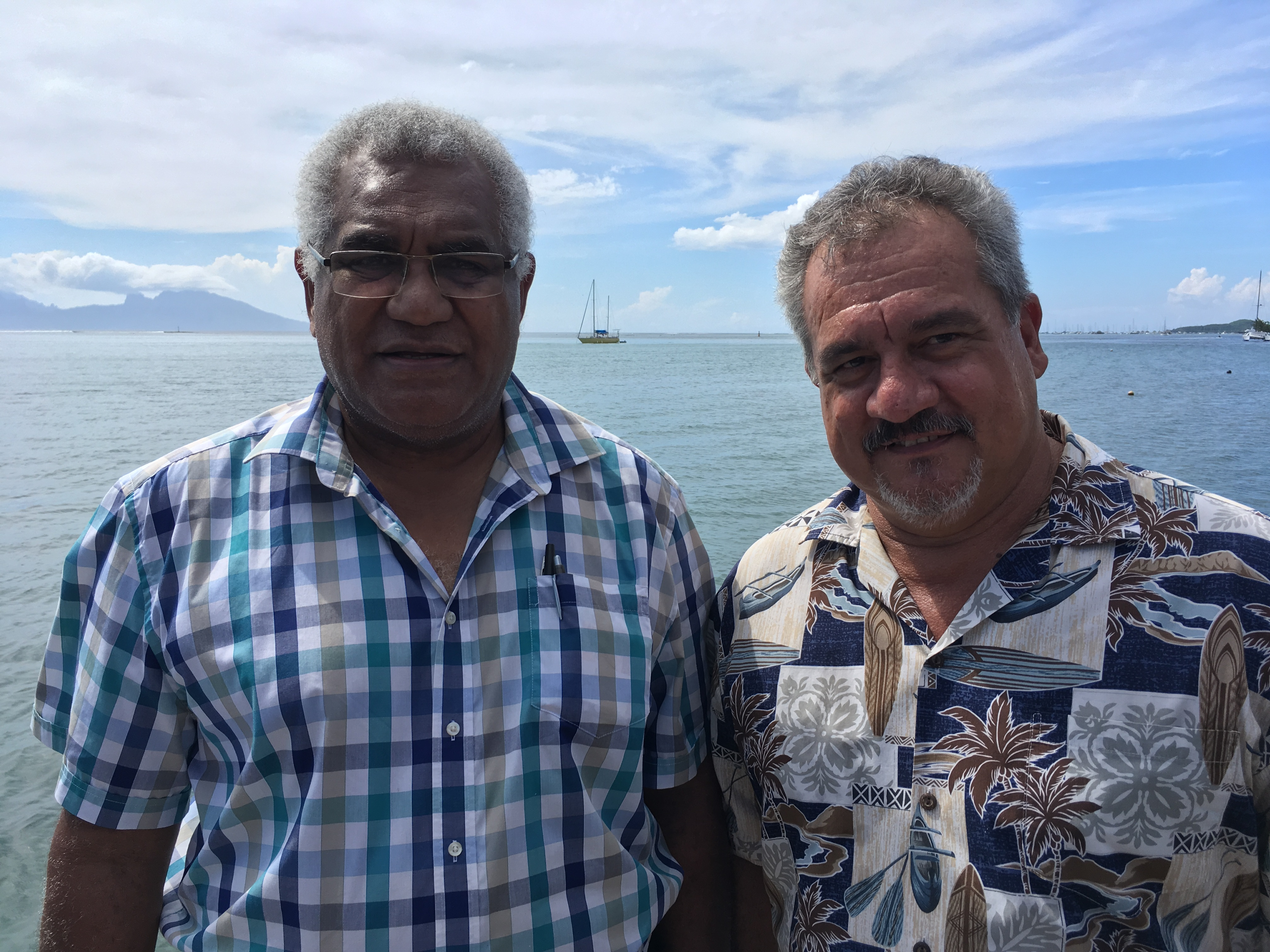 Walles Kotra et Heremoana Maamaatuaiahutapu - © Cédric Mal