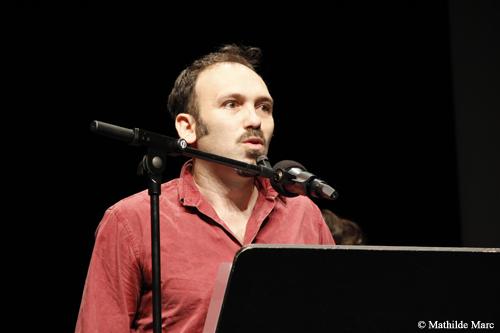 """Stefano Savona, l'un des réalisateurs de """"Palazzo della Aquile"""" - © Mathilde Marc"""